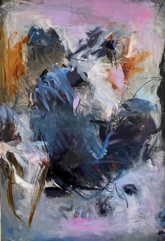 Untitled, 2020 by Louise Hjorth Jespersen | maleri