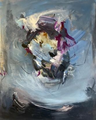 Leaving, 2020 by Louise Hjorth Jespersen | maleri