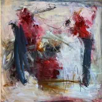 Birdcage by Louise Hjorth Jespersen | maleri