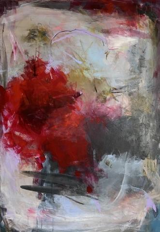 Setting adrift by Louise Hjorth Jespersen | maleri