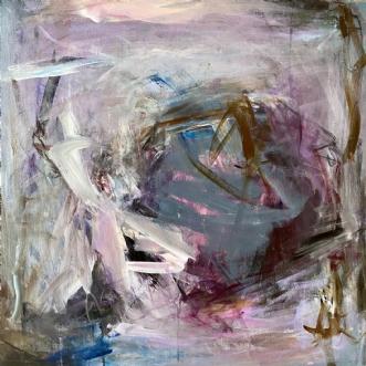 Untitled by Louise Hjorth Jespersen | maleri