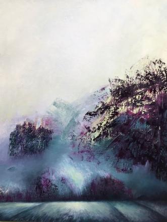 Uden titel by Kim Hedemann | maleri