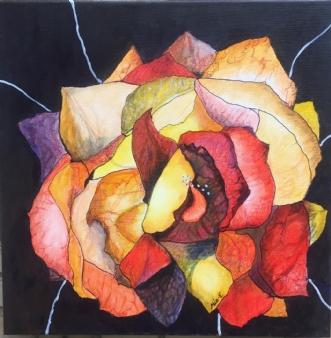 Flower? by Mia Engstrøm | maleri