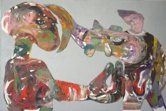 Space Deforming Fis.. by Bogdan Murg Perlmutter | maleri