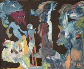 Rapunzel & Friends by Bogdan Murg Perlmutter | maleri