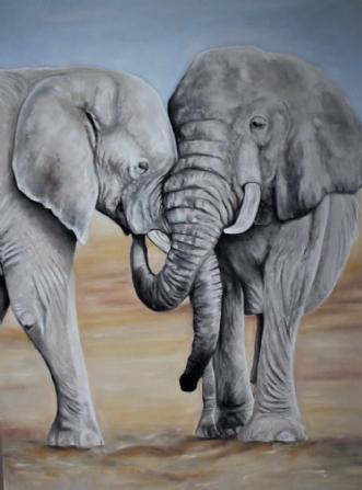ElefanterafHeidi Berthelsen