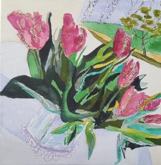 Røde tulipanerafAnnemarie Jepsen