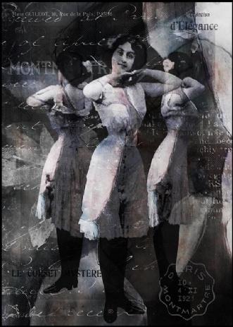 Le corset mystére by Kæthe Fog | unikaramme