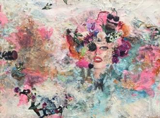 Drømme by Merete Lemvigh | maleri