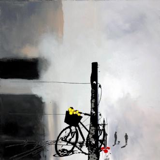 Forårs morgen by Vike Pedersen | maleri