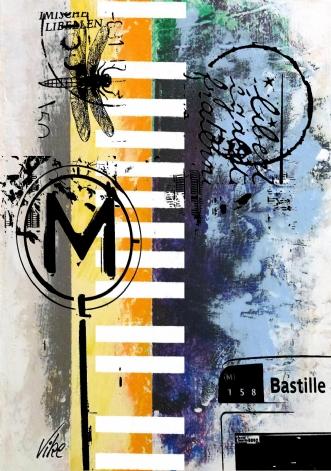 158 Bastille by Vike Pedersen | maleri