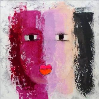 Sarah by Vike Pedersen | maleri
