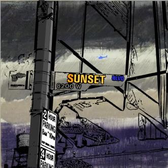 Sunset Blvd 8200 W by Vike Pedersen | maleri