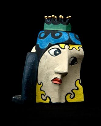 Vase med krone by Allan Hytholm | keramik