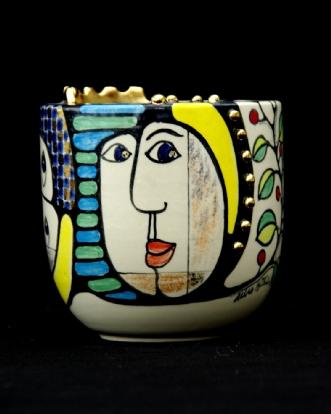 Kvinder med diadem by Allan Hytholm | keramik