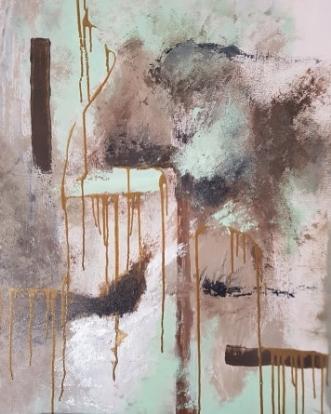 Sindsro by Yse Møller | maleri