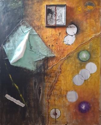 Der er altid lys by Yse Møller | maleri