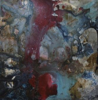 Gratitude for live by Vivi Bendixen | maleri