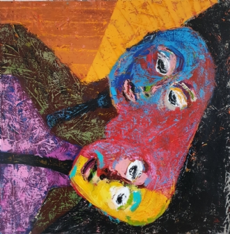 Recordatio by Mette Halkjær Rasmussen | maleri