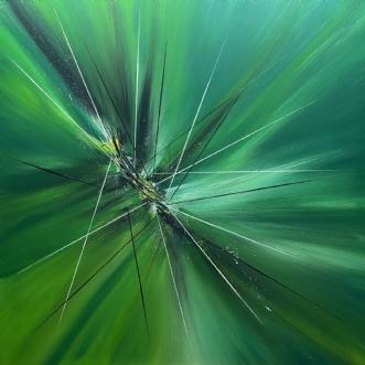 Wild.   ID 81 by Allan Hilleborg | maleri