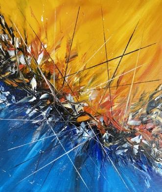 Wild.   ID 78 by Allan Hilleborg | maleri