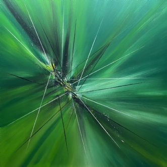 Wild. by Allan Hilleborg | maleri
