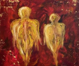 Det bare os. by Allan Hilleborg | maleri