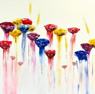 Flowers by Allan Hilleborg | maleri