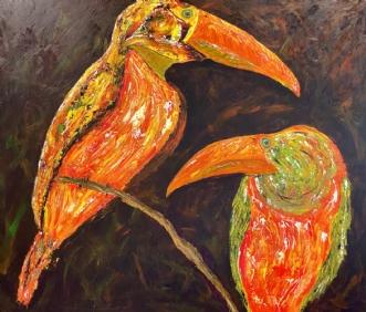 Exotiske fugle.afAllan Hilleborg