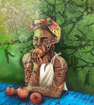 """Smaragdus viridi"" by Gigel | maleri"