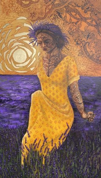 """Purpura"" by Gigel | maleri"
