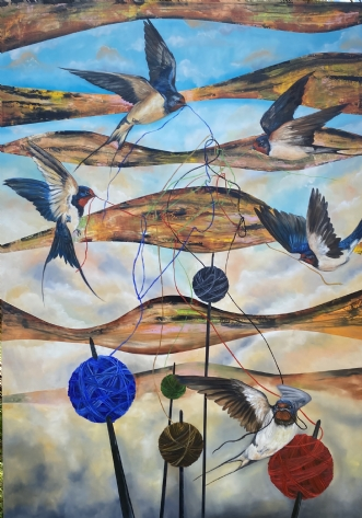 """Hank of life"" by Gigel | maleri"