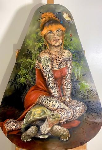 """Agate"" by Gigel   maleri"