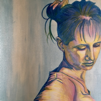 SelvportrætafPuk Josefine Risom