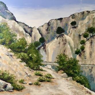 Klippevejen i LerapetraafPuk Josefine Risom