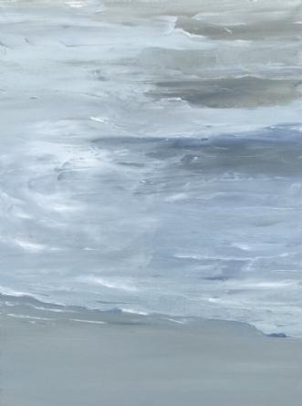 Calm Sea by Asta Nissen | maleri