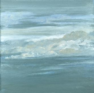 Flying by Asta Nissen | maleri