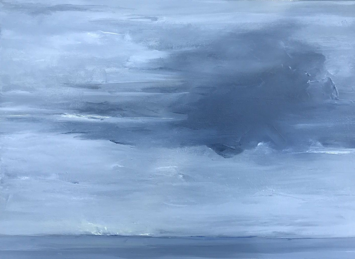 Udsyn by Asta Nissen | maleri