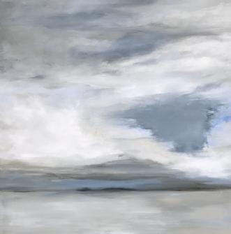 Stormy Days by Asta Nissen | maleri