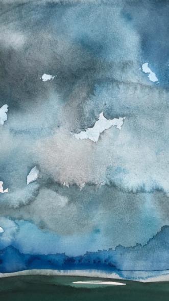 Sky #1 by Asta Nissen | tegning