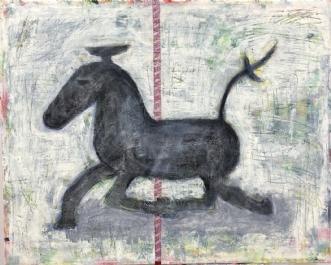 The Horse by Lone Gadegaard Dyrby | maleri