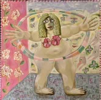 HULA-big-warm-HUGS by Lone Gadegaard Dyrby | maleri