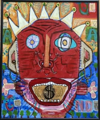 Le Roi $oleil by Lone Gadegaard Dyrby | maleri