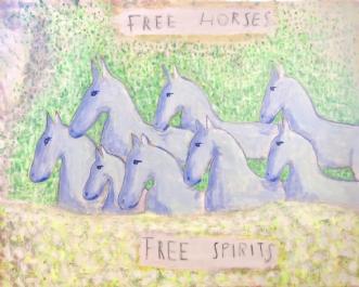 Free Horses - Free SpiritsafLone Gadegaard Dyrby