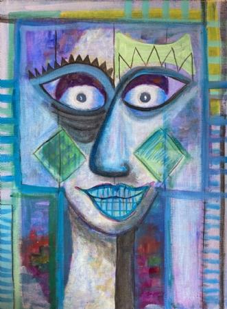 SMILE by Lone Gadegaard Dyrby | maleri