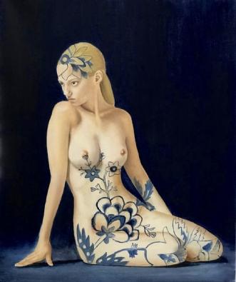 Blue flowerafJeanette Elmelund