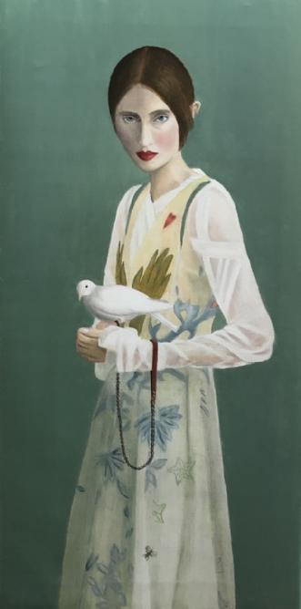 Fri som fuglen by Jeanette Elmelund | maleri