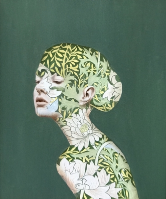 Evergreen by Jeanette Elmelund | maleri