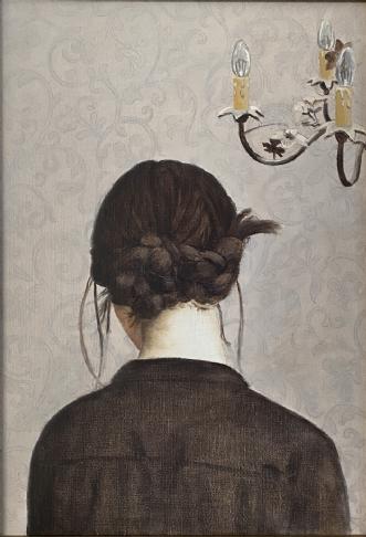 Flettet by Jeanette Elmelund | maleri