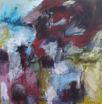 Be spontaneus by Birgit Thygesen | maleri